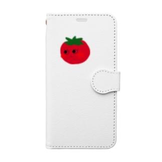 おすましとまとちゃん Book-style smartphone case