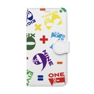 数字シリーズ計算 Book-style smartphone case