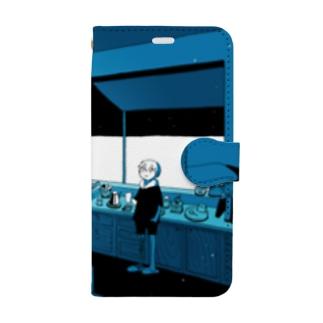 night coffee Book-style smartphone case