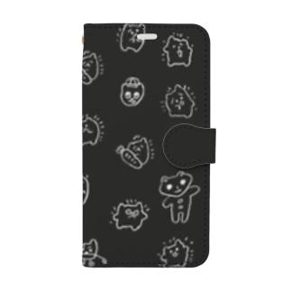 Black Hotosan Book-style smartphone case