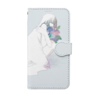 hydrangea 手帳型スマートフォンケース