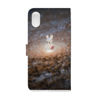 Tödliches Giftの宇宙のミミ美 Book-style smartphone caseの裏面