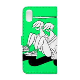 とびねこ Book-style smartphone case