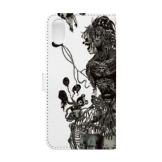 桃色のネバーランド Book-style smartphone case
