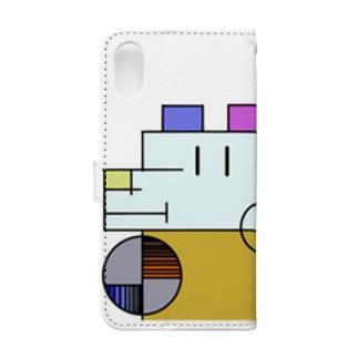 ざっしゅいぬ Book-style smartphone case