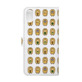 こぴっと5兄弟 Book-style smartphone case