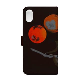 柴田是真 果蔬蒔絵重箱(蓋部分) Book-style smartphone case