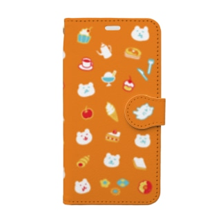おやつタイム Book-style smartphone case