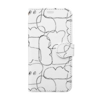 パン Book-style smartphone case
