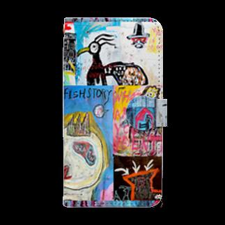 DoiMayumiのPOP ART JUNKIE01 Book-style smartphone case