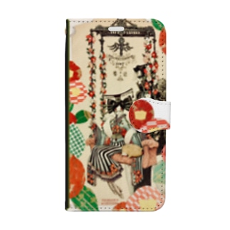 【VISION】椿姫 Book-style smartphone case