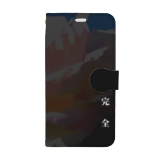"""薔薇/peLfection""-iPhoneXS/X Book style smartphone case"