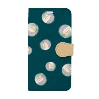 ◆ 京飴 藍鉄色 ◆  Book style smartphone case