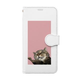 うちのねこ💤 Book-style smartphone case