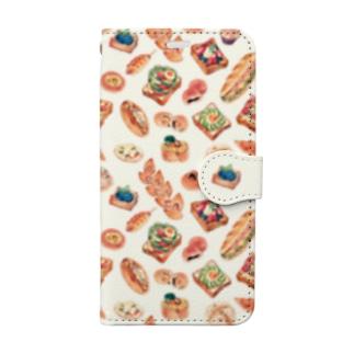 「パンたっぷり」iphoneX-Xs用 Book-style smartphone case