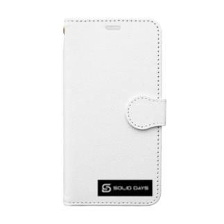 SOLID DAYS 2019 ボックスロゴ Book style smartphone case