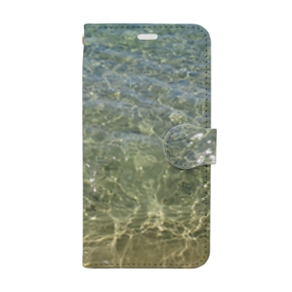 clear sea Book-style smartphone case