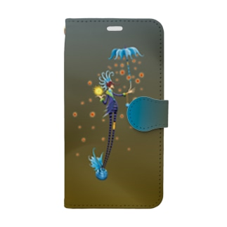 Noppo Ombrello Azure Book-style smartphone case
