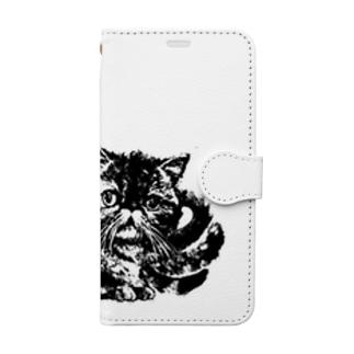 コルメキッサ杏ちゃんマークシリーズ Book-style smartphone case