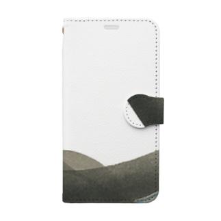 流れ【01】スマホケース Book-style smartphone case