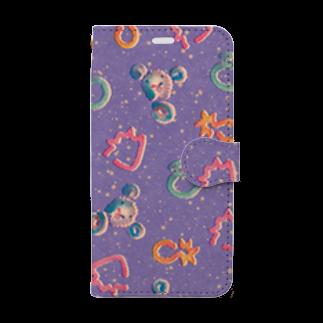 ヌトグランのフルーシパーフー Book-style smartphone case