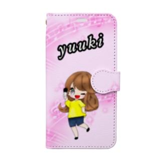 ゆうきちゃん Book-style smartphone case