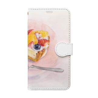 フルーツタルト Book-style smartphone case
