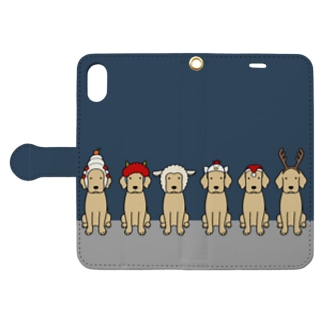 かぶりもの Book style smartphone case