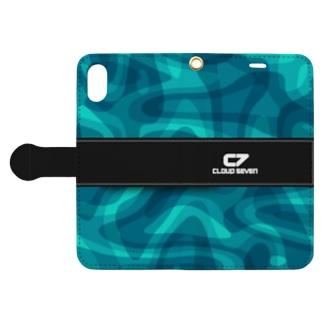 BLUE CAMO Book-style smartphone case