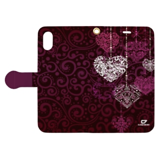 FALL HEART Book-style smartphone case