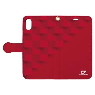 RED SQUARE Book-style smartphone case