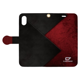 RED GRANGE Book-style smartphone case