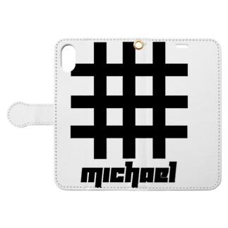ミカエル Book-style smartphone case
