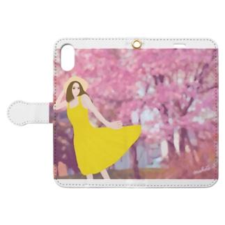 春風 Book-style smartphone case