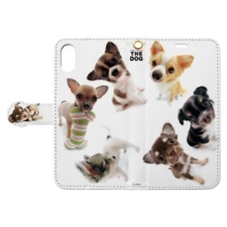 THE DOG[チワワ]  Book style smartphone case