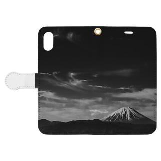富士山/Mt'FUJI Book-style smartphone case