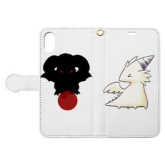手帳型スマホケース Book-style smartphone case