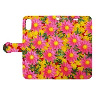 お料理の脇役 Book style smartphone case