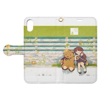 僕は君のクマ Book-style smartphone case