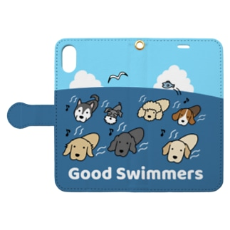 Good Swimmers Book-style smartphone case