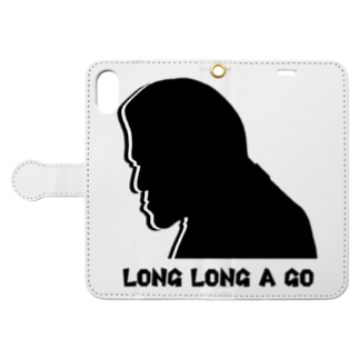 LONG LONG A GO Book-style smartphone case