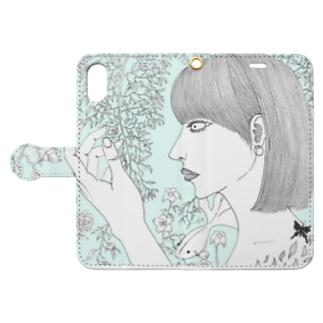 共存 Book-style smartphone case