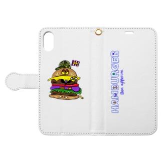 Hamburger Book-style smartphone case