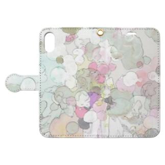 ぶくぶく Book-style smartphone case