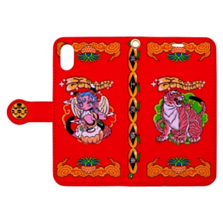 虎虎XS Book-style smartphone case