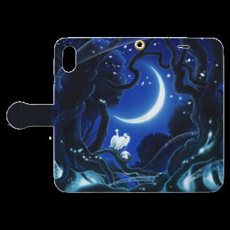 KimikoUmekawaのBirth Book-style smartphone caseを開いた場合(外側)