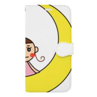 もちまる Book-style smartphone case