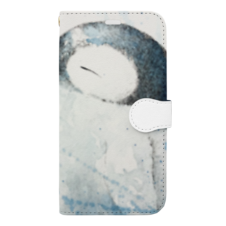 jin-whalesongのblizzard Book-style smartphone case