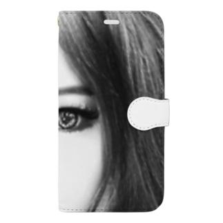 妄想彼女 Book-style smartphone case