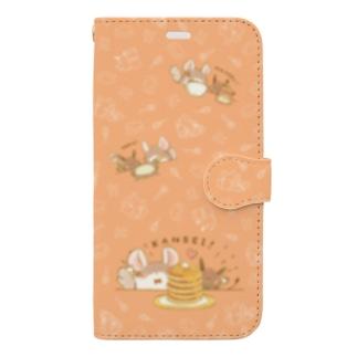 ホットケーキをつくろう!(XR用) Book-style smartphone case
